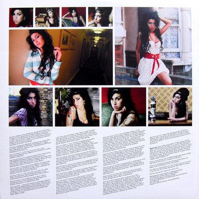 Amy Winehouse Back To Black UK (Vinyl LP)