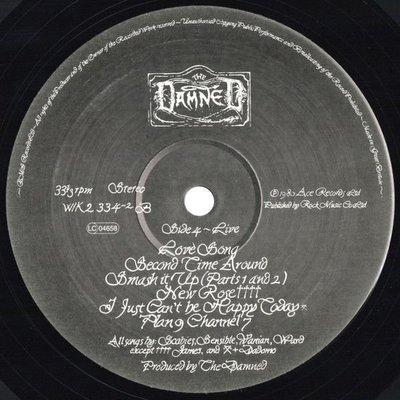 The Damned The Black Album (Vinyl LP)