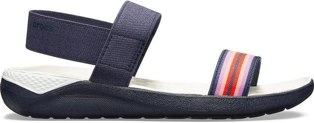 Crocs Women's LiteRide Sandal Navy Colorblock/Navy 41-42
