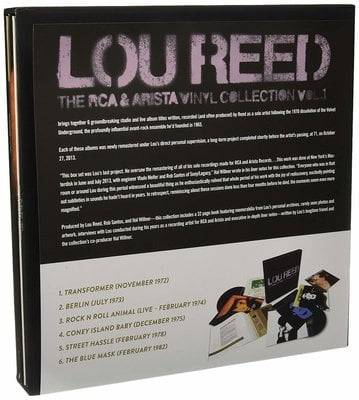 Lou Reed The RCA & Arista Vinyl Collection