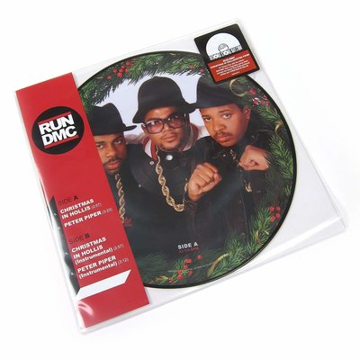 Run DMC Christmas In Hollis (Picture Disc)