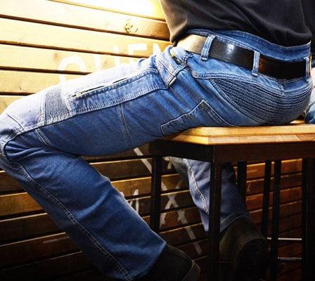 Trilobite 661 Parado TÜV CE 44 Men Jeans Blue Level 1