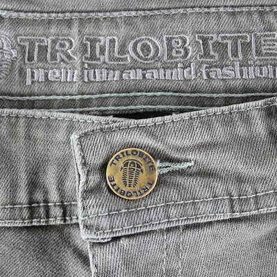 Trilobite 661 Parado TÜV CE 34 Men Jeans Light Grey Level 2