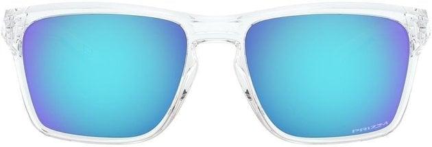Oakley Sylas Polished Clear/Prizm Sapphire