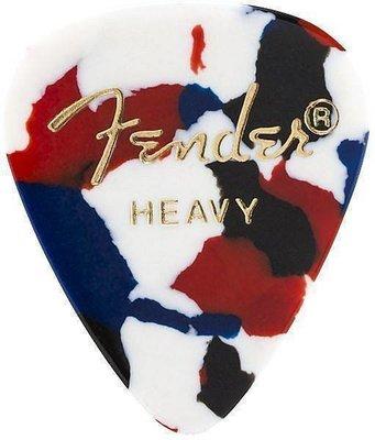 Fender 351 Shape Premium Picks Confetti Heavy 12 Pack