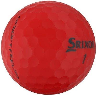 Srixon Soft Feel 11 Golf Balls Brite Red
