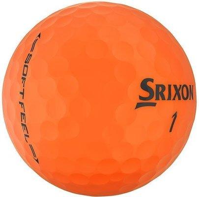 Srixon Soft Feel 11 Golf Balls Brite Orange