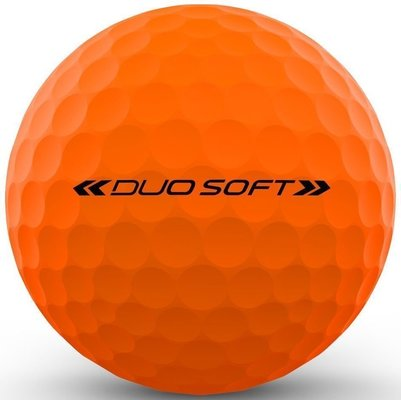 Wilson Staff Duo Optix Golf Balls Orange