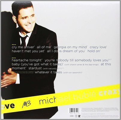 Michael Bublé Crazy Love LP