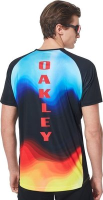 Oakley MTB SS Tech Tee Multicolor Gradient L
