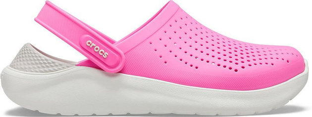 Crocs LiteRide Clog Electric Pink/Almost White 38-39