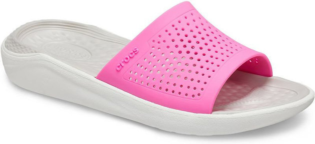 Crocs LiteRide Slide Electric Pink/Almost White 39-40