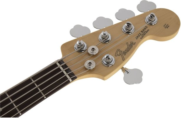 Fender MIJ Hybrid Jazz Bass V RW Charcoal Frost Metallic