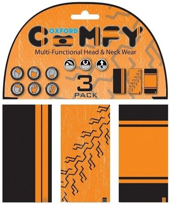 Oxford Comfy HD Colours 3-Pack