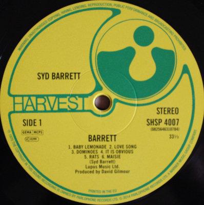 Syd Barrett Barret