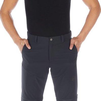 Mammut Runbold Zip Off Mens Pants Black 46