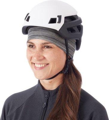 Mammut Merino Helmet Beanie Titanium Melange