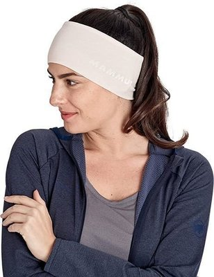 Mammut Merino Headband Moonbeam Melange
