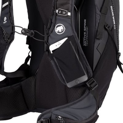 Mammut Ducan Spine 28-35 Black