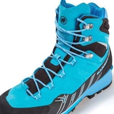 Mammut Kento Guide High GTX Womens Shoes Ocean/Dark Whisper UK 5