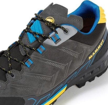 Mammut Kento Low GTX Mens Shoes Dark Titanium/Freesia UK 9,5