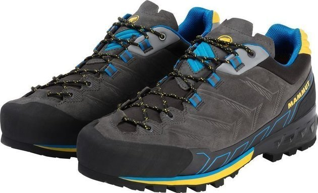 Mammut Kento Low GTX Mens Shoes Dark Titanium/Freesia UK 10,5
