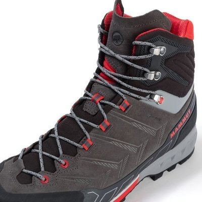 Mammut Kento Tour High GTX Mens Shoes Dark Titanium/Dark Spicy UK 8