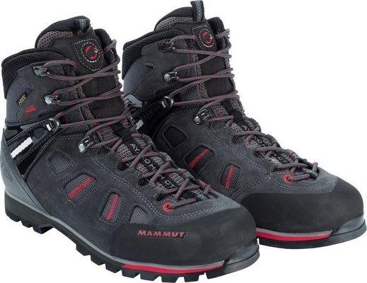 Mammut Ayako High GTX Mens Shoes Graphite/Inferno UK 8
