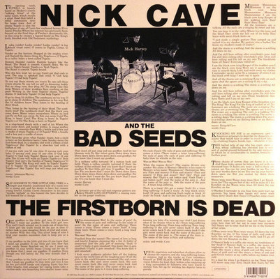 Nick Cave & The Bad Seeds The Firstborn Is Dead