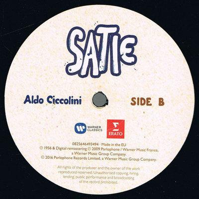 Aldo Ciccolini Eric Satie (Lp)