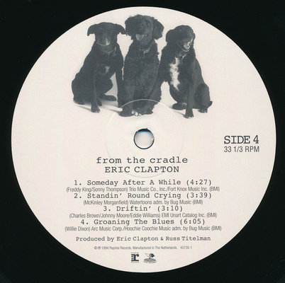 Eric Clapton From The Cradle