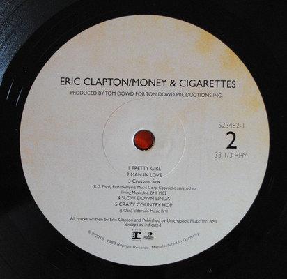 Eric Clapton Money And Cigarettes