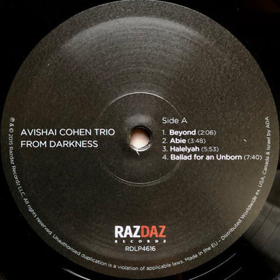 Avishai Cohen From Darkness