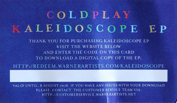 Coldplay Kaleidoscope (Ep)