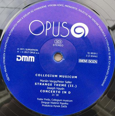 Collegium Musicum Collegium Musicum (Vinyl)