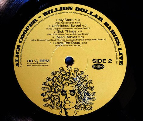 Alice Cooper Rsd - Billion Dollar Babies Live (Black Friday 2019)