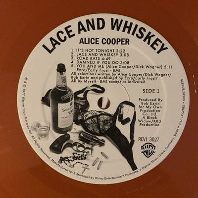 Alice Cooper Lace And Whiskey (Brown Vinyl)