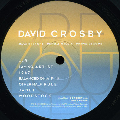 David Crosby Here If You Listen