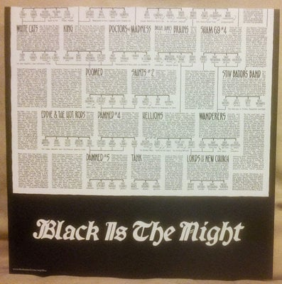 The Damned Black Is The Night: The Definitive Anthology (4 LP)