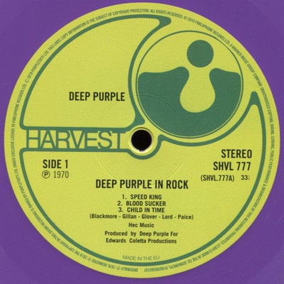 Deep Purple In Rock (2018 Remastered Version)