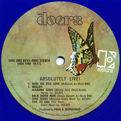 The Doors Rsd - Absolutely Live