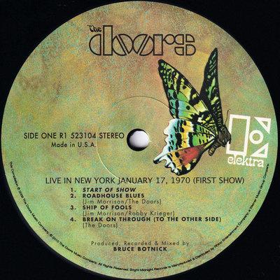 The Doors Live In New York