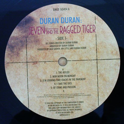 Duran Duran Seven & The Ragged Tiger (Special Edition)