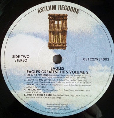 Eagles Their Greatest Hits Volumes 1 & 2