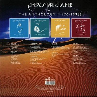 Emerson, Lake & Palmer The Anthology (4 LP)