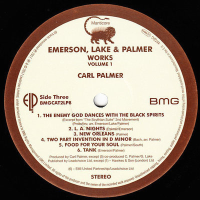 Emerson, Lake & Palmer Works Volume 1