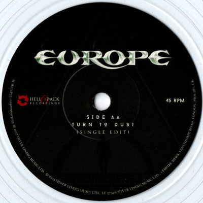 Europe Rsd - Walk The Earth Limited Edition 7'' Single