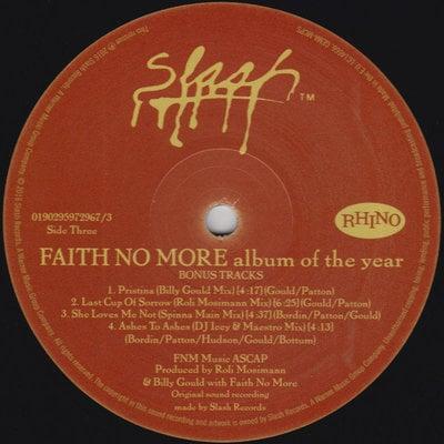 Faith No More Album Of The Year