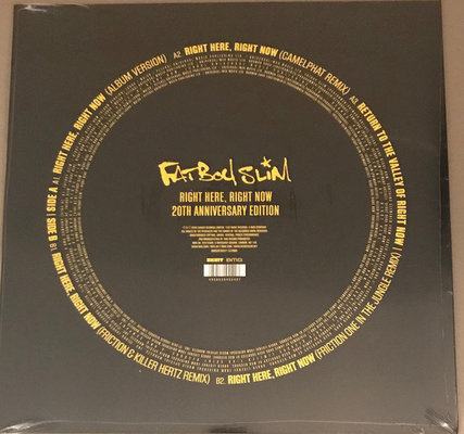 Fatboy Slim Rsd - Right Here, Right Now Remixes