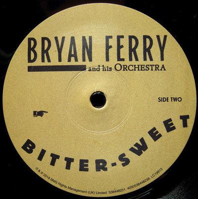 Bryan Ferry Bitter Sweet